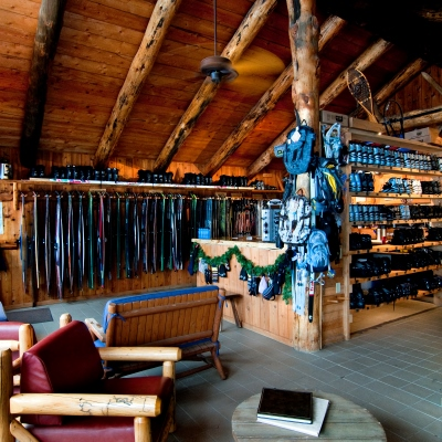 Nordic Center, stocked with skis and all your outdoor adventure needs at Vista Verde Guest Ranch.