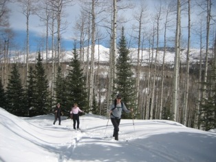 Backcountry Skiing at Vista Verde Ranch