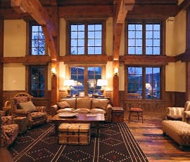 Vista Verde Ranch: Lodge Great Rm Video
