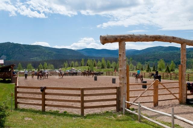 Horse Outdoor Riding Arena