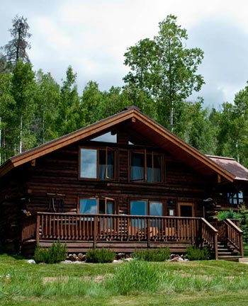 Luxury Log Cabin Accommodations