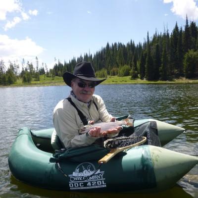 Adrian fly fishing Colorado vacation