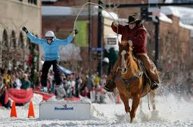 Street events at Steamboat's Winter Carnival