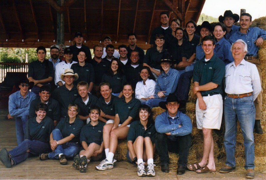 A VVR staff photo from long ago!
