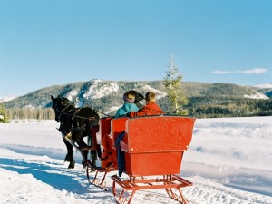 Sleigh ride Colorado