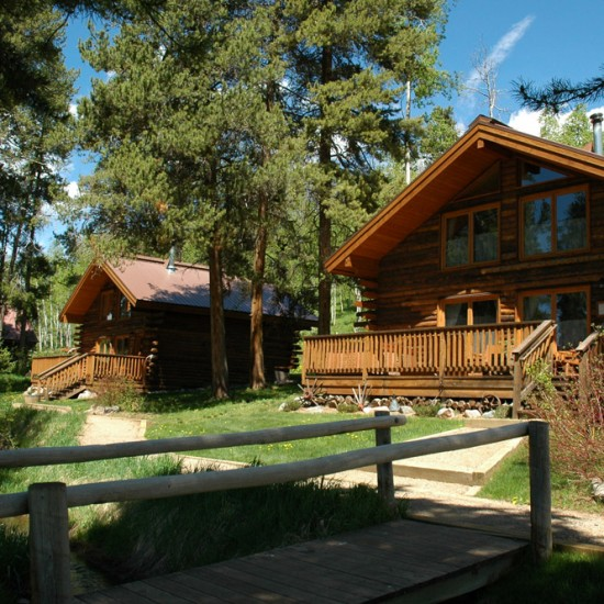 Vista Verde Dude Ranch Colorado Big Agnes Cabin