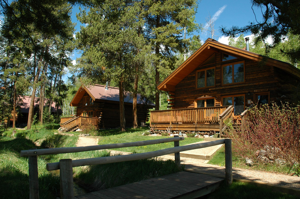 Vista Verde Dude Ranch Colorado Big Agnes Cabin