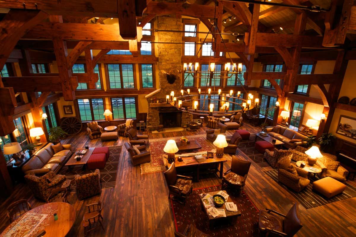 ista Verde Dude Ranch Colorado Great room Lodge