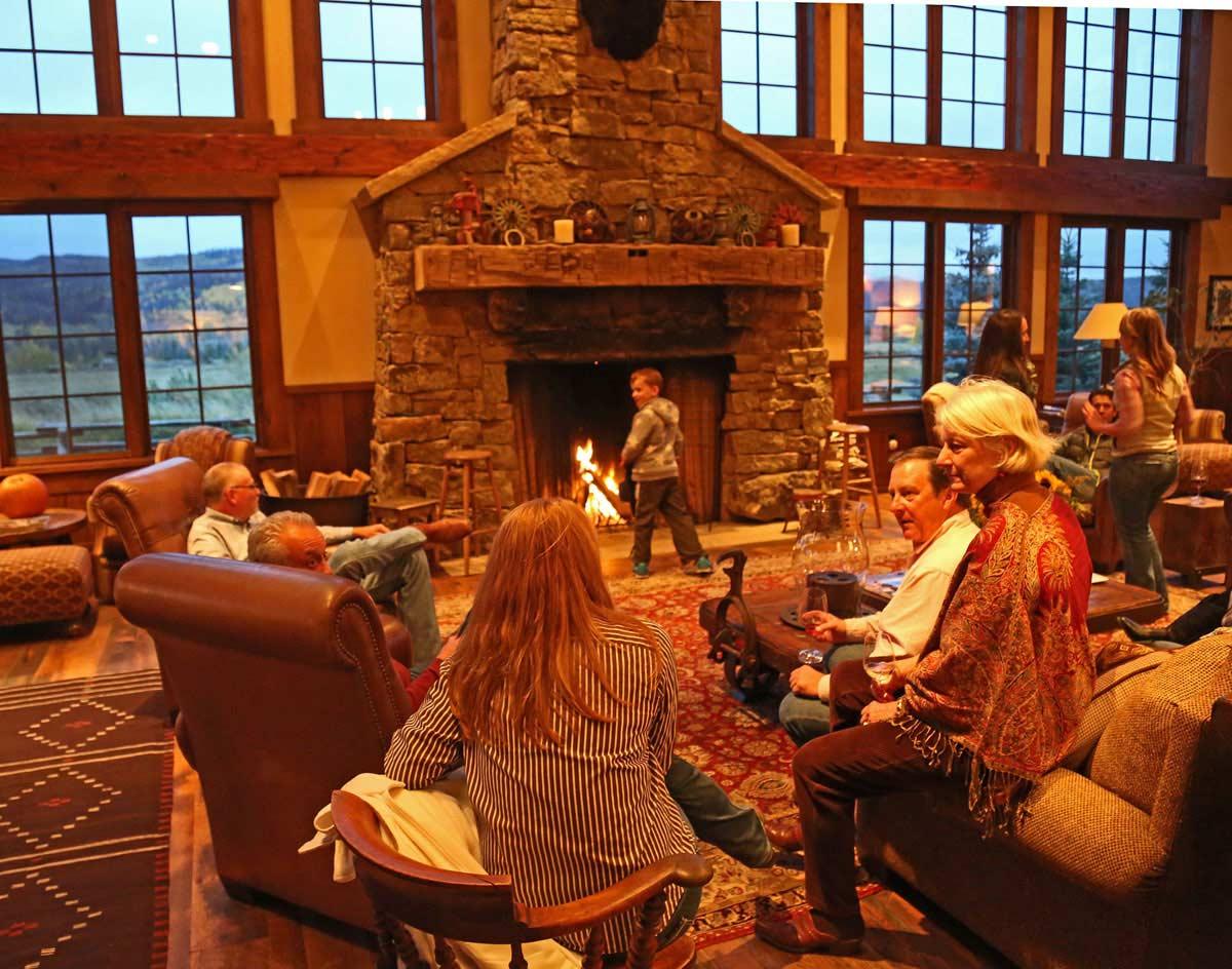 Vista Verde Ranch Colorado Lodge Great Room