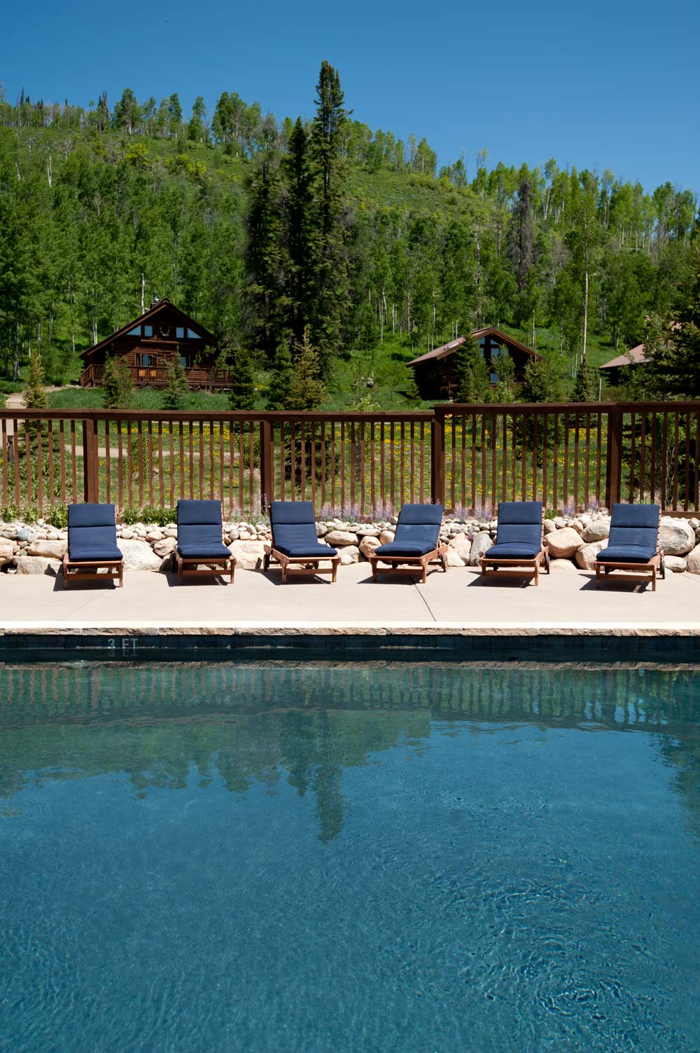 Vista Verde Ranch Colorado Vacation Swimming Pool