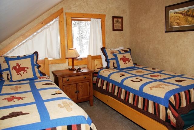 Zirkel cabin interior at Vista Verde Guest Ranch near Steamboat Springs Colorado