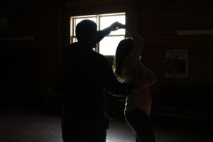 barn dance at luxury ranch