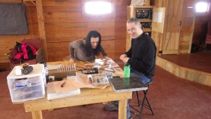 leather working at vista verde ranch