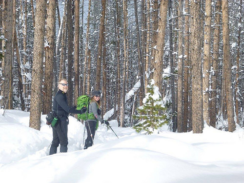 romantic cross country ski vacation