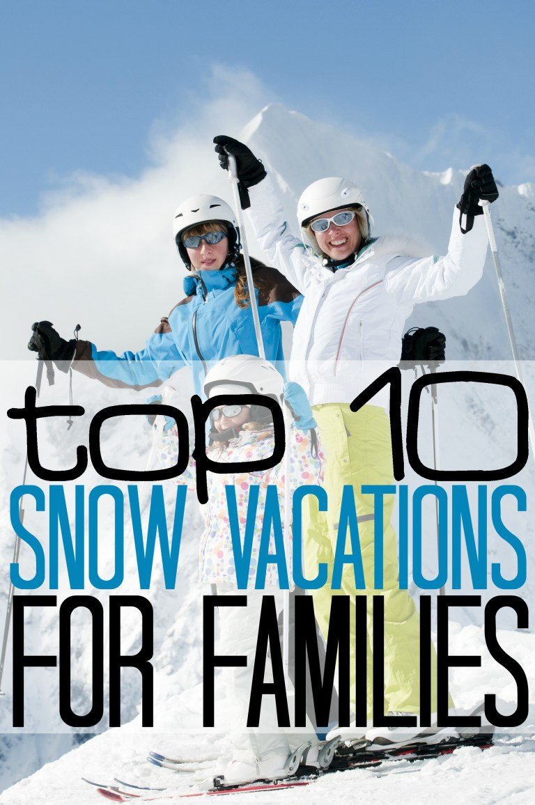 best snow vacations for families