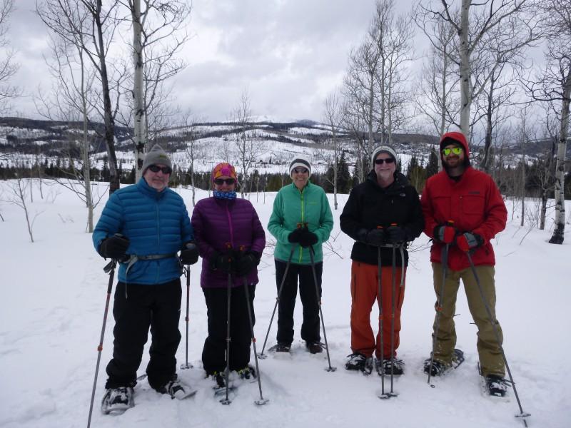 family snow vacation