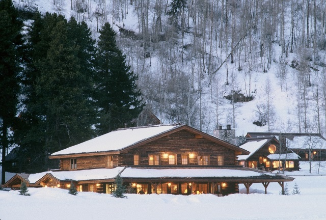 winter resort becomes luxury resort
