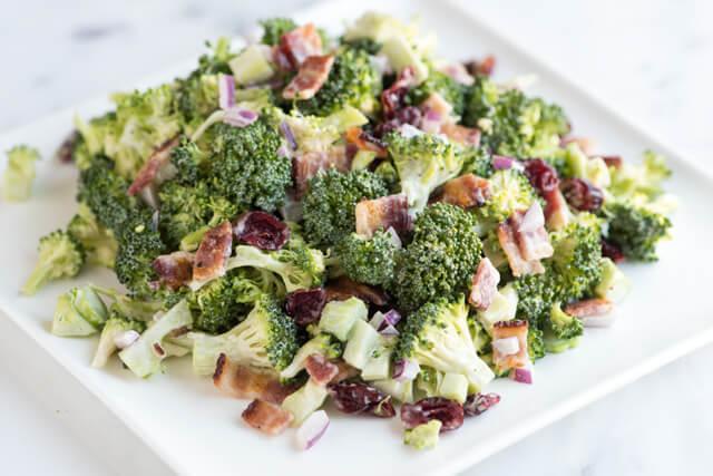 dude ranch food- broccoli salad recipe