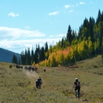 mountain biking at a dude ranch