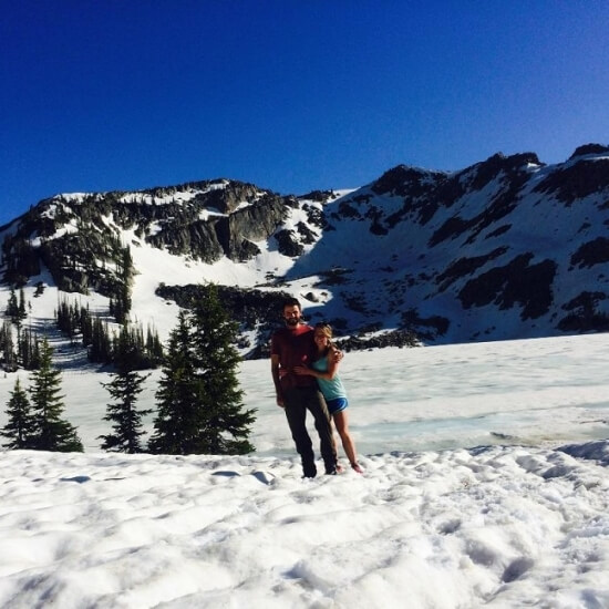 Gilpin lake engagement