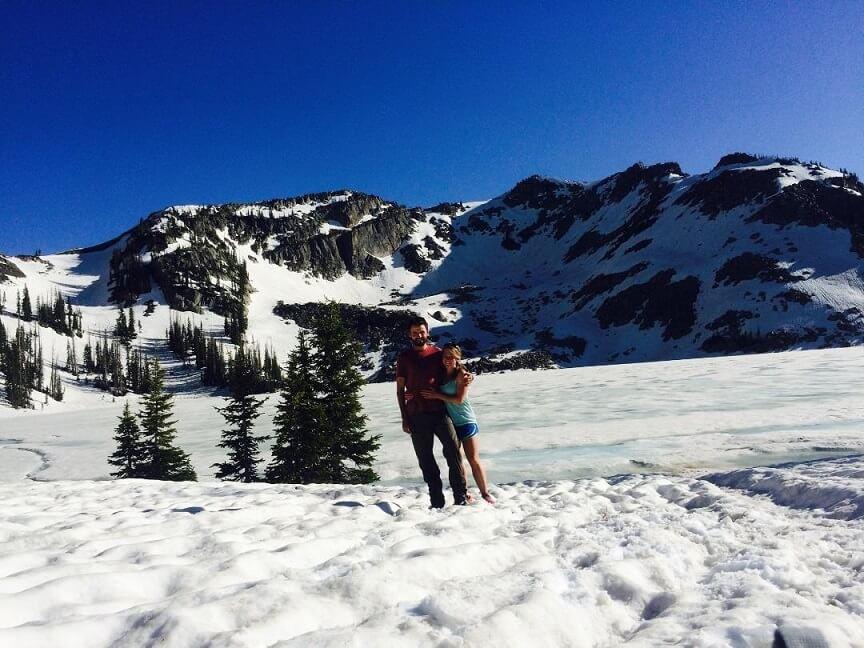 Gilpin lake engagement