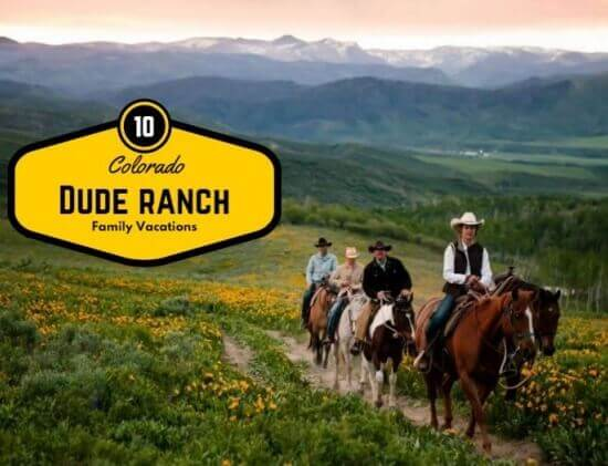 spring break dude ranches in Colorado