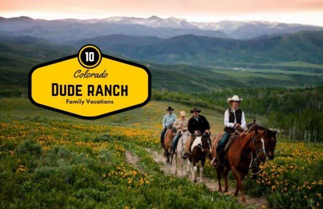 spring break dude ranches in Colorado