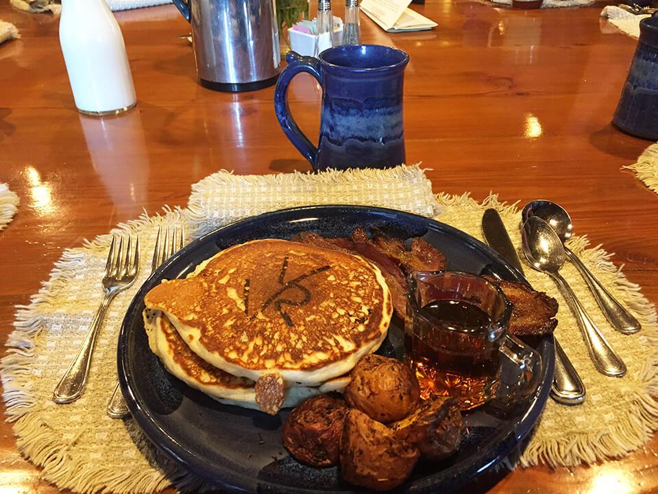 hearty dude ranch breakfast