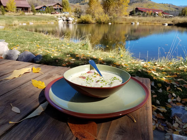 luxury ranch corn chowder recipe
