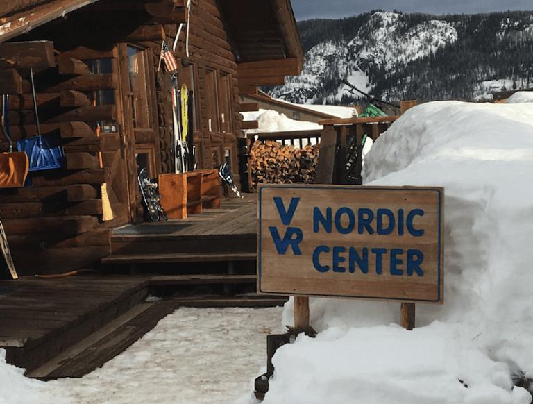 family snow vacation at Vista Verde Ranch