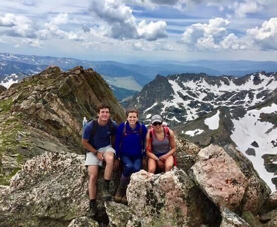 hiking vacation in Colorado