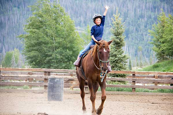 Kids Teens Program at Vista Verde Dude Ranch Colorado