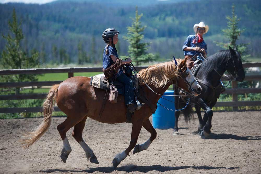 Family Dude Ranch Vacation Colorado Vista Verde