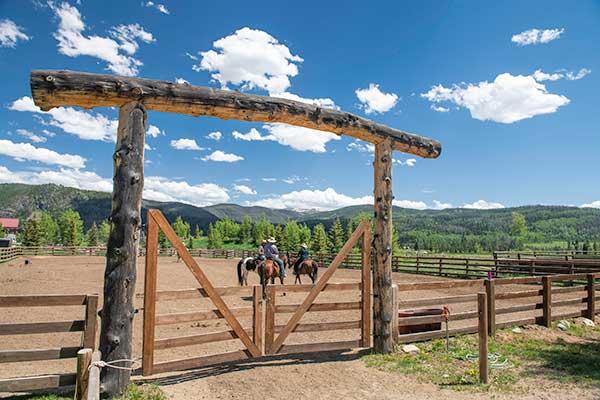 Summer Vacation Family Vista Verde Ranch Colorado