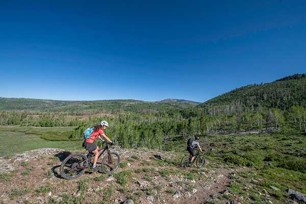 Summer Bike Rides at Vista Verde Ranch in Colorado