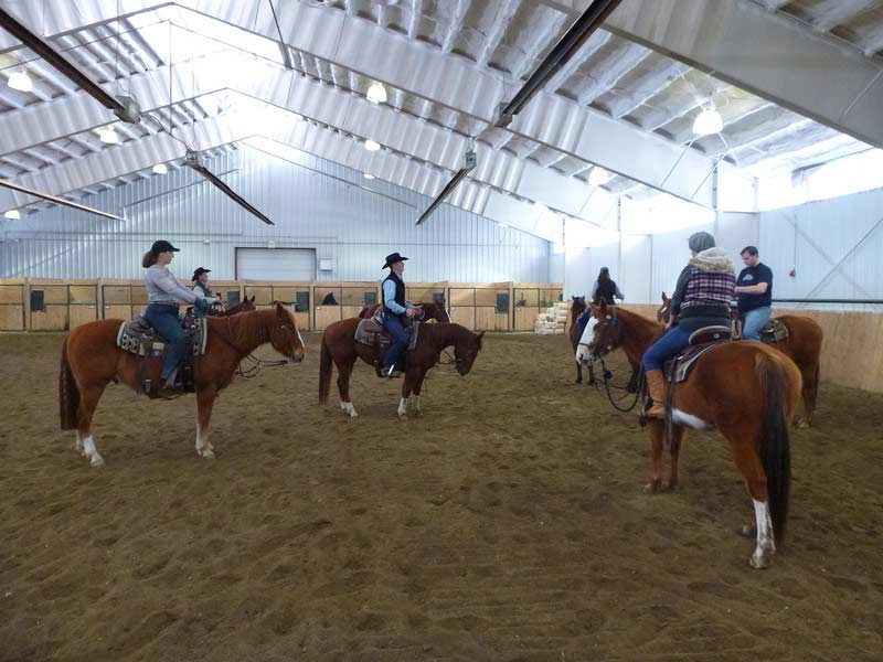 Indoor Horse Arena Horse Vacation Vista Verde Ranch Colorado