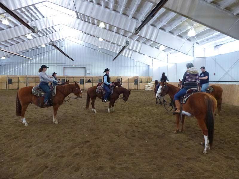 Indoor Horse Arena Horse Vacation Vista Verde Ranch Colorado