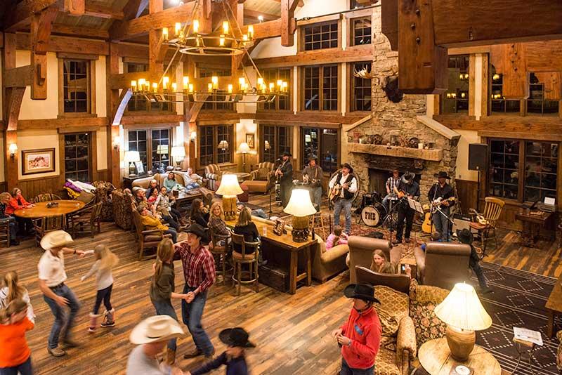 Luxury Lodge Great Room Vista Verde Guest Ranch Colorado