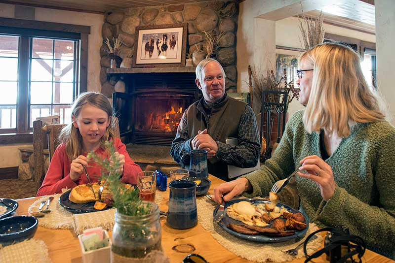 Fine Dining Family Vacation Vista Verde Ranch in Colorado