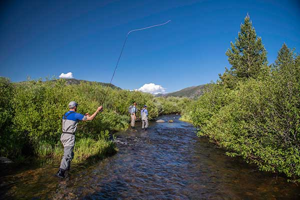 Fishing in Colorado at a Guest Ranch Vista Verde