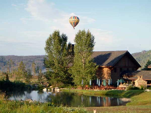 Hot Air Ballooning Colorado Luxury Ranch Vacation Vista Verde
