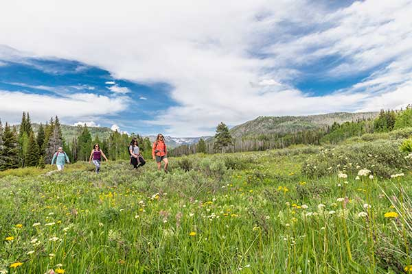 Summer Activities Hike hiking Vista Verde Ranch Colorado Family Vacation