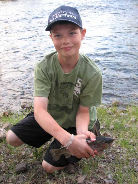Summer Activities Fly Fishing Vista Verde Ranch Colorado Family Vacation