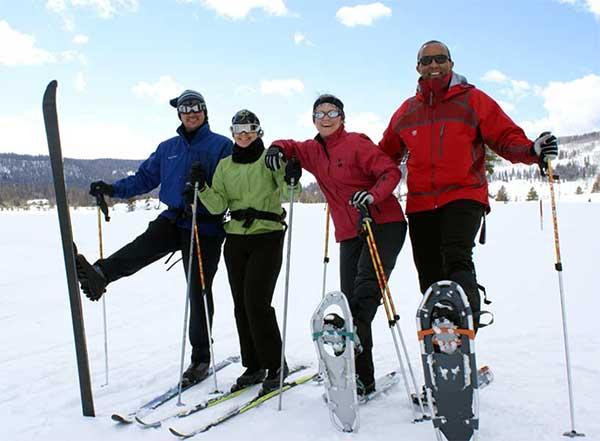 Winter Activities at a Colorado Dude Ranch Vista Verde Snowshoe Ski