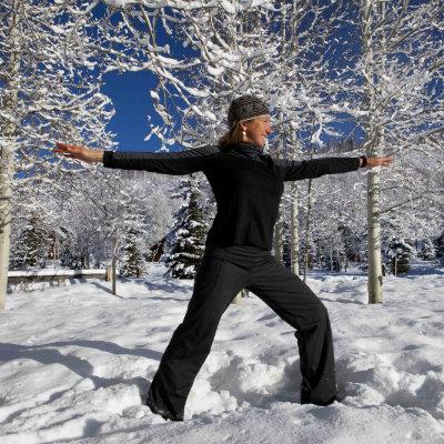 Winter Yoga Retreat Vista Verde Ranch Colorado
