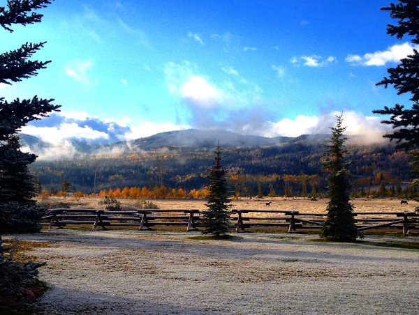 october all-inclusive dude ranch vacation view